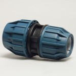 40mm x 32mm Straight Compression Coupler