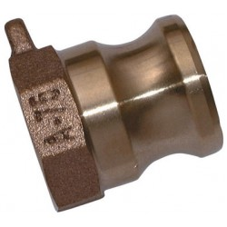 BSPP Female Threaded Plug Brass