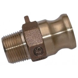 BSPT Male Threaded Plug Brass