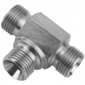 Male/Male/Male BSPP Fixed Tee Connectors