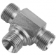 """3/4"""" BSPP Male/Male/Male Fixed Stainless Steel Tee"""