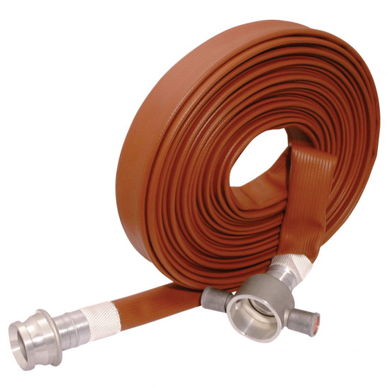 45mm Layflat Fire Fighting Hose Brigadier Type 3 with Couplings
