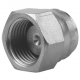 "1/4"" BSPP Hexagon Head Stainless Steel Blanking Cap"