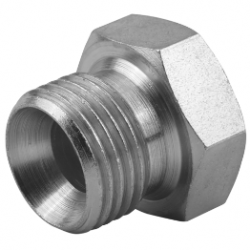 "1/4"" BSPP Hexagon Head Stainless Steel Plug"