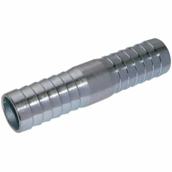 "Steel Plated Hose Connector to suit 3/4"" I/D Hose"