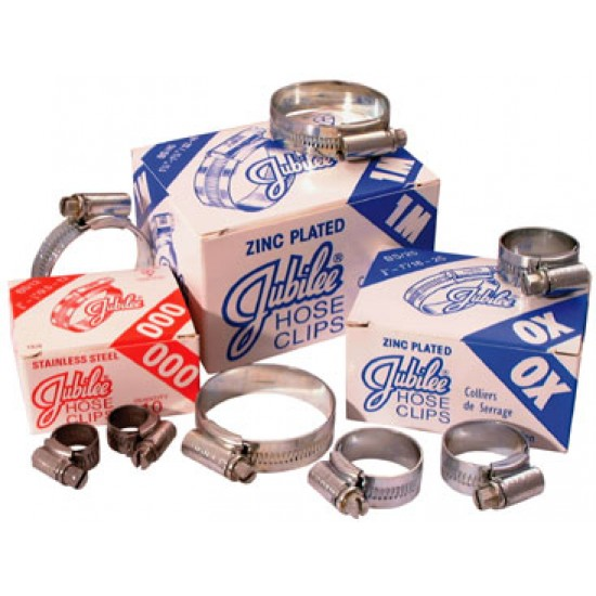 Stainless Steel Jubilee Clips 9.5mm-12mm