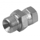"3/8"" BSPP Male x 1/4"" BSPP Female Swivel Stainless Steel Adaptor"