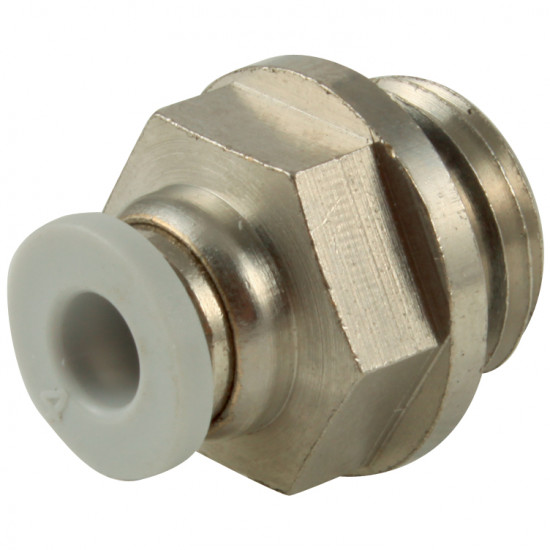 "Push In Male Stud Parallel 1/8"" BSPP x 10 O/D"