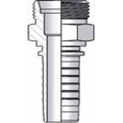 Metric S Series Male Straight Hose Fitting