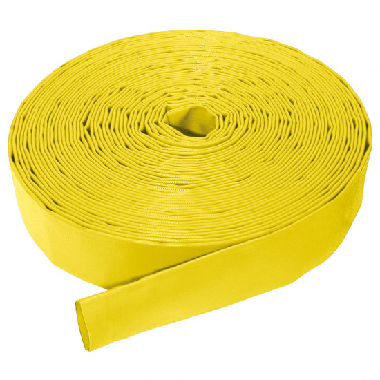"2"" Bore Medium Duty Layflat Hose x 10 Mtr"