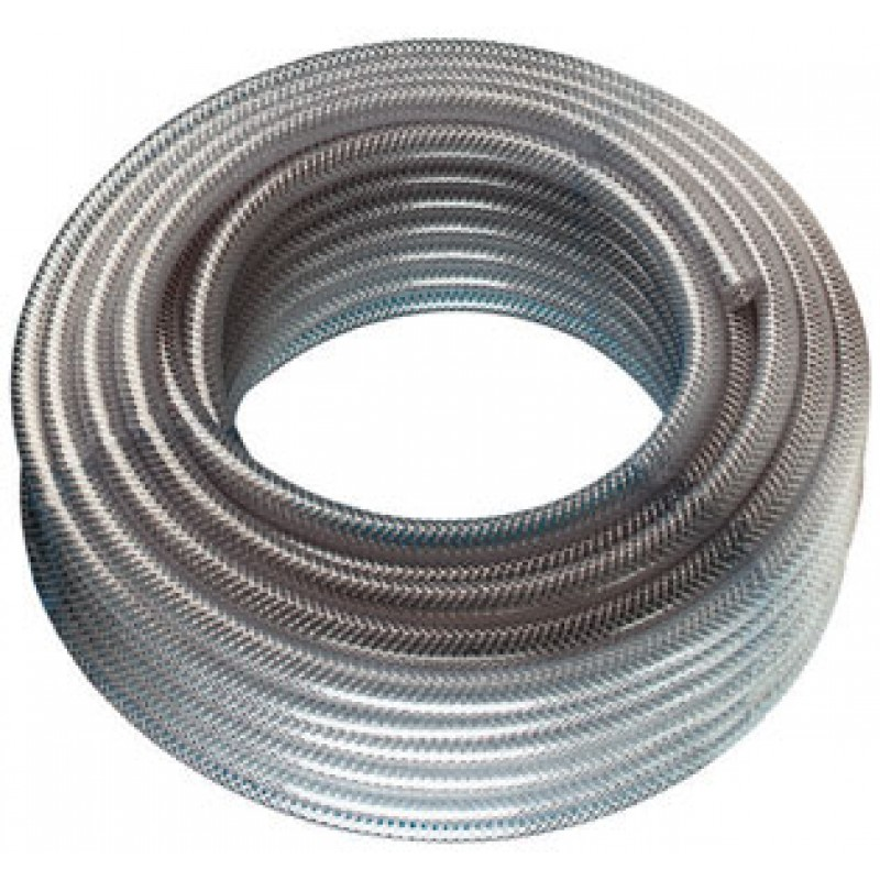 Rubber Ends /& Clips 1//4-6MM Stainless Steel Braided Fuel Hose Pipe 1 Metre