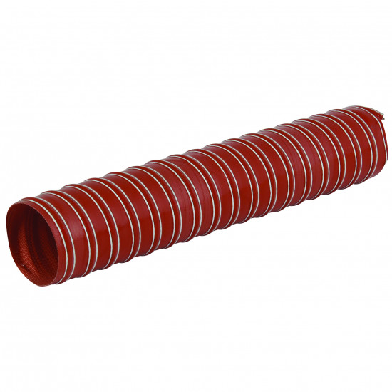 102mm I/D Double Ply Silicone Coated Glass Fabric Ducting