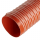 Double Ply Silicone Coated Glass Fabric Ducting