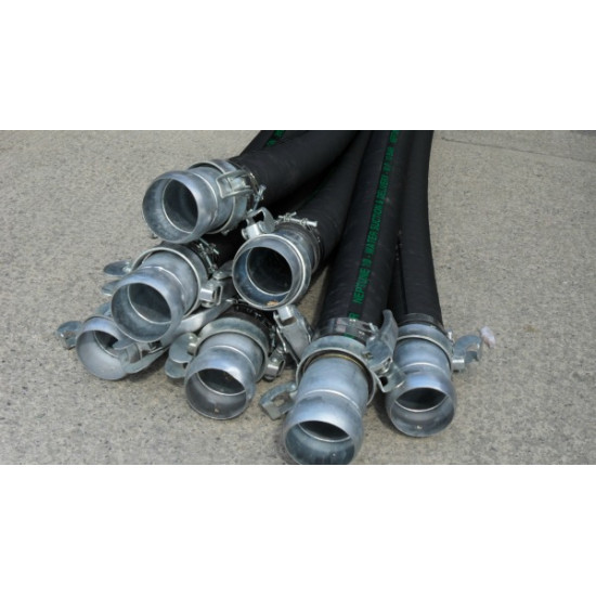 "6"" Bore Water Hose Assemblies x 3mtr"
