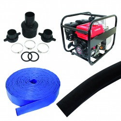 Flood Pump Kit 500 Lpm Honda Engine