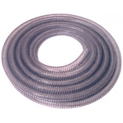 "Wire Reinforced Suction Hose 1"" Bore x 10 Mtr"