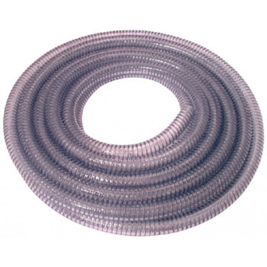 """Wire Reinforced Suction Hose 1/2"""" Bore x 30 Mtr"""