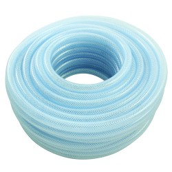 "1/4"" Bore Food Certified PVC Reinforced Hose x 30 Mtr"