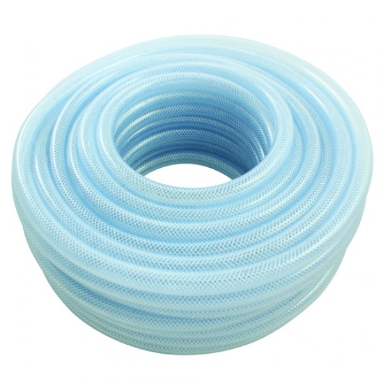 "5/16"" Bore Food Certified PVC Reinforced Hose x 100 Mtr"
